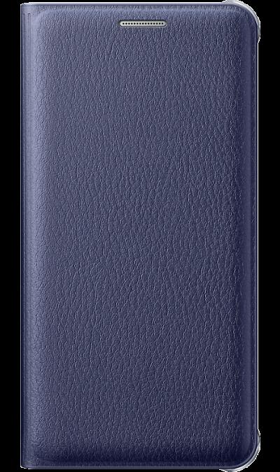 Чехол-книжка Samsung FLIP WALLET COVER для Galaxy A5 (2016), полиуретан, синий