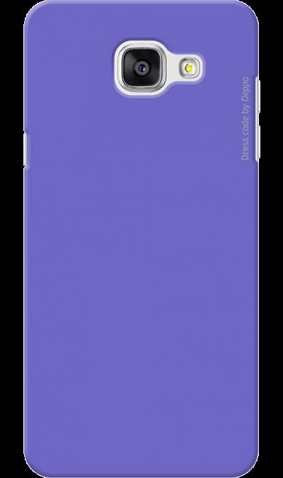 Чехол-крышка Deppa для Samsung Galaxy A5 (2016), пластик, фиолетовый